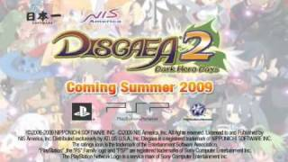 Disgaea 2: Dark Hero Days! English Trailer!