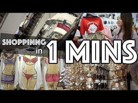 LANDMARK OF SHOPPING IN 1MIN (Platinum fashion shopping mall)