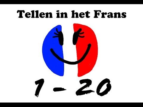 frans leren spreken #2: tellen 1 - 20 - youtube