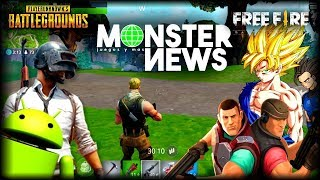 FORTNITE, PUBG 0.4, FREE FIRE, DRAGON BALL LEGENDS, AND MORE NEWS ANDROID GAMES - iOS