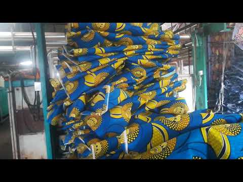Manufacturing Unit of African print fabric, Pihoo Textile