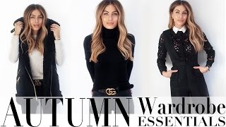 AUTUMN WARDROBE ESSENTIALS | Lydia Elise Millen