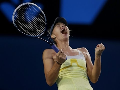 Maria Sharapova - Best points in Australian Open 2013