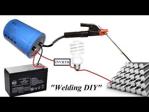 Make an Amazing Capacitor Spot Welding Machine at Home DIY