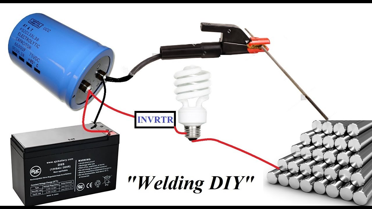 Make an Amazing Capacitor Spot Welding Machine at Home DIY ...