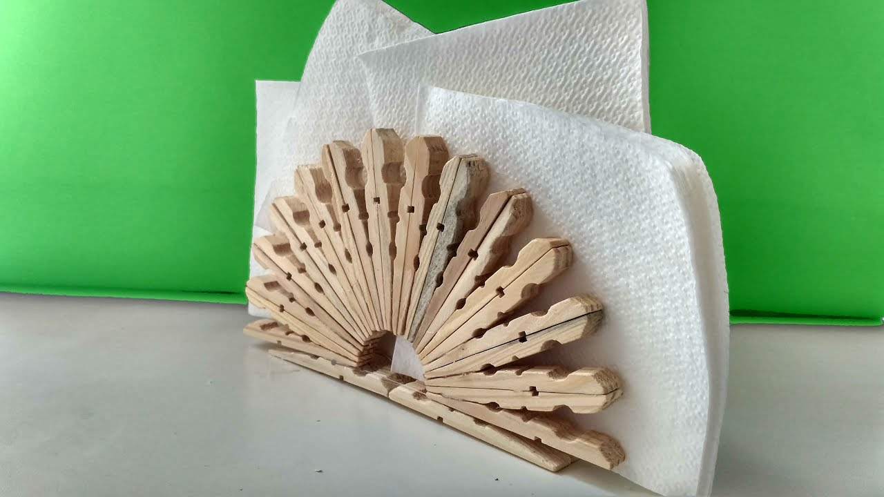 Ideas With Clothespins Diy