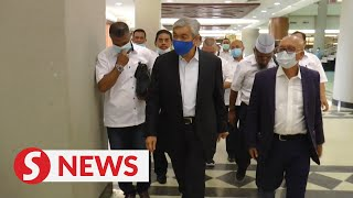 Zahid's hearing postponed, pending second Covid-19 test results