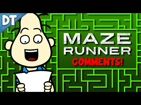 MAZE RUNNER INTERVIEW COMMENTS!! : Todd's Blog