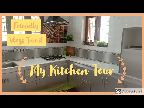 Welcome to my Kitchen world/ Kitchen Tour in Tamil. from YouTube · Duration:  13 minutes 54 seconds