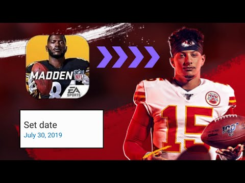 CHANGING MY DATE TO MADDEN MOBILE 20! WHAT WILL HAPPEN!?