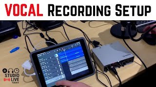 How to record vocals in GarageBand iOS (iPad/iPhone)