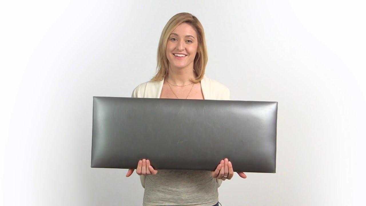 upholstered wall panels padded vÄnt upholstered wall panels infomercial youtube