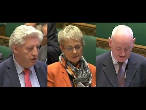 SDLP MPs affirming their allegiance to British Queen