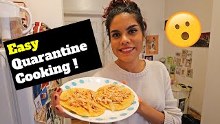 Life in a Tiny NYC Apartment RIGHT NOW ? - Quarantine Cooking at Home  ! ? (Chicken Tinga Tacos-Ep2)