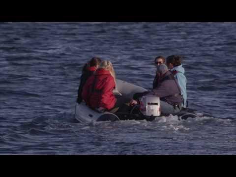 HWDT volunteer onboard Silurian