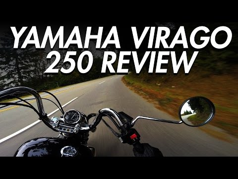 Yamaha Virago 250 Review | Best Beginner Cruiser Motorcycle - LIFE OF BRI