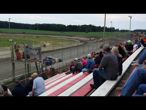 Aj ward racing @ i-96 speedway  1st half of heat race 7/29/16