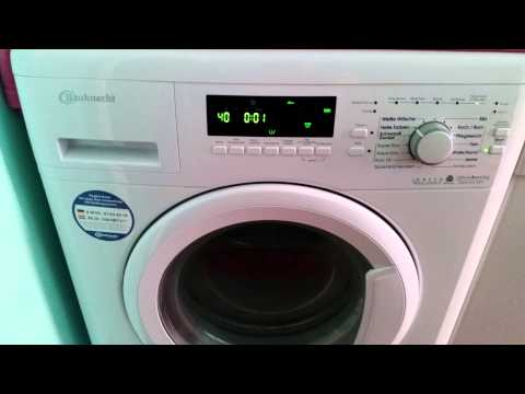 bauknecht waschmaschine super eco 6412 doovi. Black Bedroom Furniture Sets. Home Design Ideas