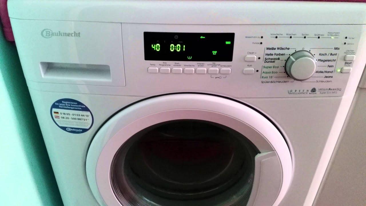 waschmaschine laut