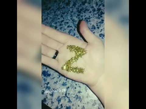 zərlə duzəlmiş Z hərifi😘