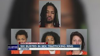 6 busted in sex trafficking ring