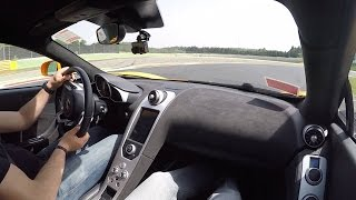 Pure Sound: McLaren MP4-12C - Hot Laps Around Autodromo Vallelunga
