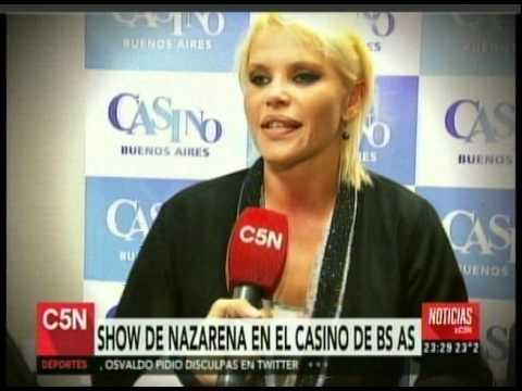 C5N - CASINO BUENOS AIRES: SHOW DE NAZARENA VELEZ