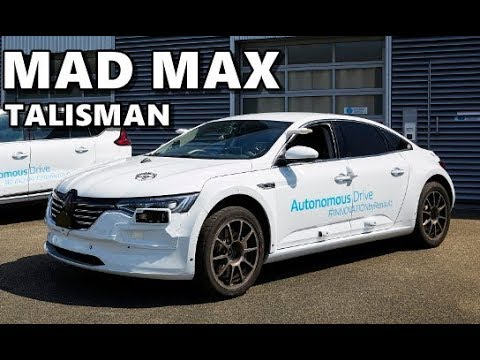 Renault Talisman Mad Max Technology Development Testbed
