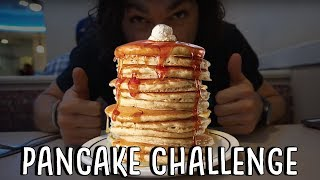 IHOP All You Can Eat Pancake Challenge