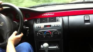 Fiat coupe 16v turbo test drive