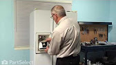 Refrigerator Dispenser Front Cover - How To Replace - YouTube on