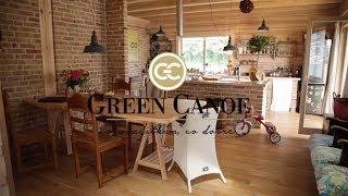 WNĘTRZARSKIE PODRÓŻE Green Canoe - Julia Rozumek - dom z drewna