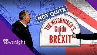 The big Brexit roadtrip: The A1 to Hitchin - BBC Newsnight