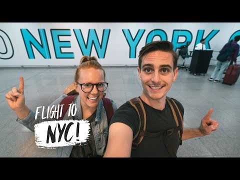 We're Flying to NEW YORK CITY! - Travel Day to NYC (Austin, TX ✈️NYC)