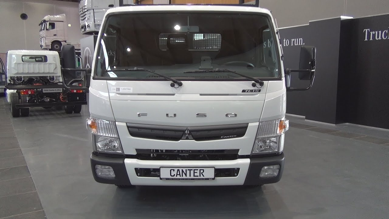 Fuso Canter 7c15 Tipper Truck 2018 Exterior And Interior Youtube