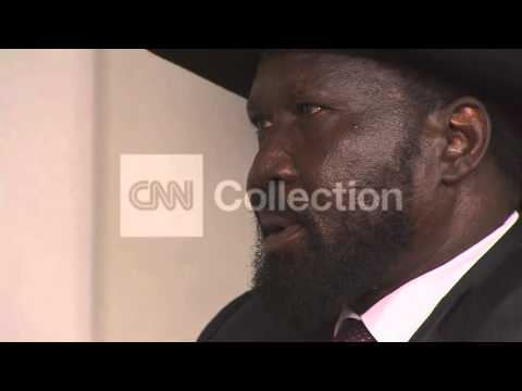 "SOUTH SUDAN:PRESIDENT KIIR INTV  ""WE WILL FIGHT"""