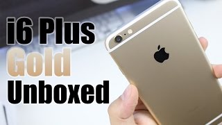 iPhone 6 Plus Unboxing (Gold)