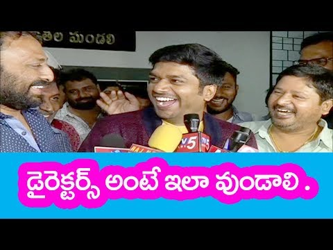 Anil Ravipudi Speech After Winning Telugu Film Directors Association Elections 2018    Clipper News