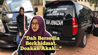 Netizen Doakan Niat Noorkhiriah Wakafkan Van Jenazah Dipermudahkan