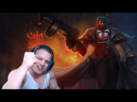 PURE DEMOLITION! - Tyler1 Graves jungle gameplay