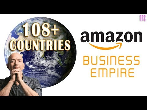 Amazon Business Empire ($900+ Billion) | Jeff Bezos | How bi