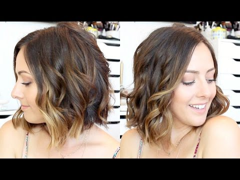How To: Curl Hair With A Straightener & Curling Wand