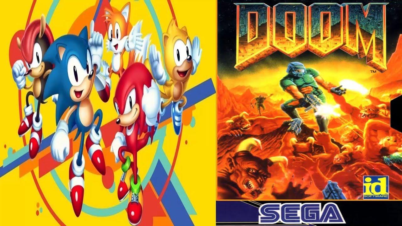 Doom en Sonic Mania