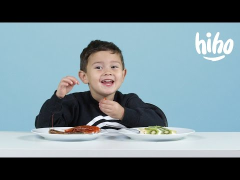 More Christmas Foods | American Kids Try Food from Around the World - Ep 11 | Kids Try | Cut