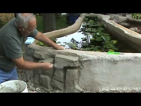 Making A Faux Rock Wall Part 2 Adding Definition Youtube
