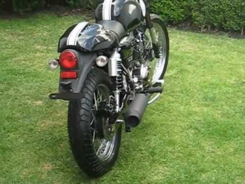 cleveland cycle werks - bfr motors cafe racer misfit - youtube