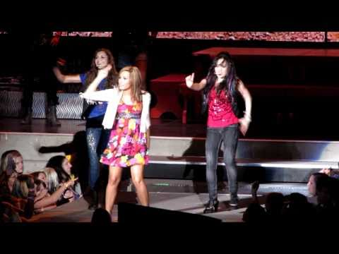 Demi Lovato Ft. Camp Rock Live - Brand New Day - September 16th, 2010