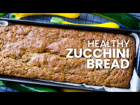 Healthy Zucchini Bread | Low Sugar and Low Fat