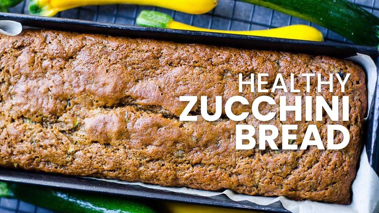 Healthy Zucchini Bread Recipe Applesauce