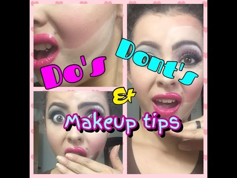 Makeup Do's & Don'ts + Mistakes to Avoid 2016